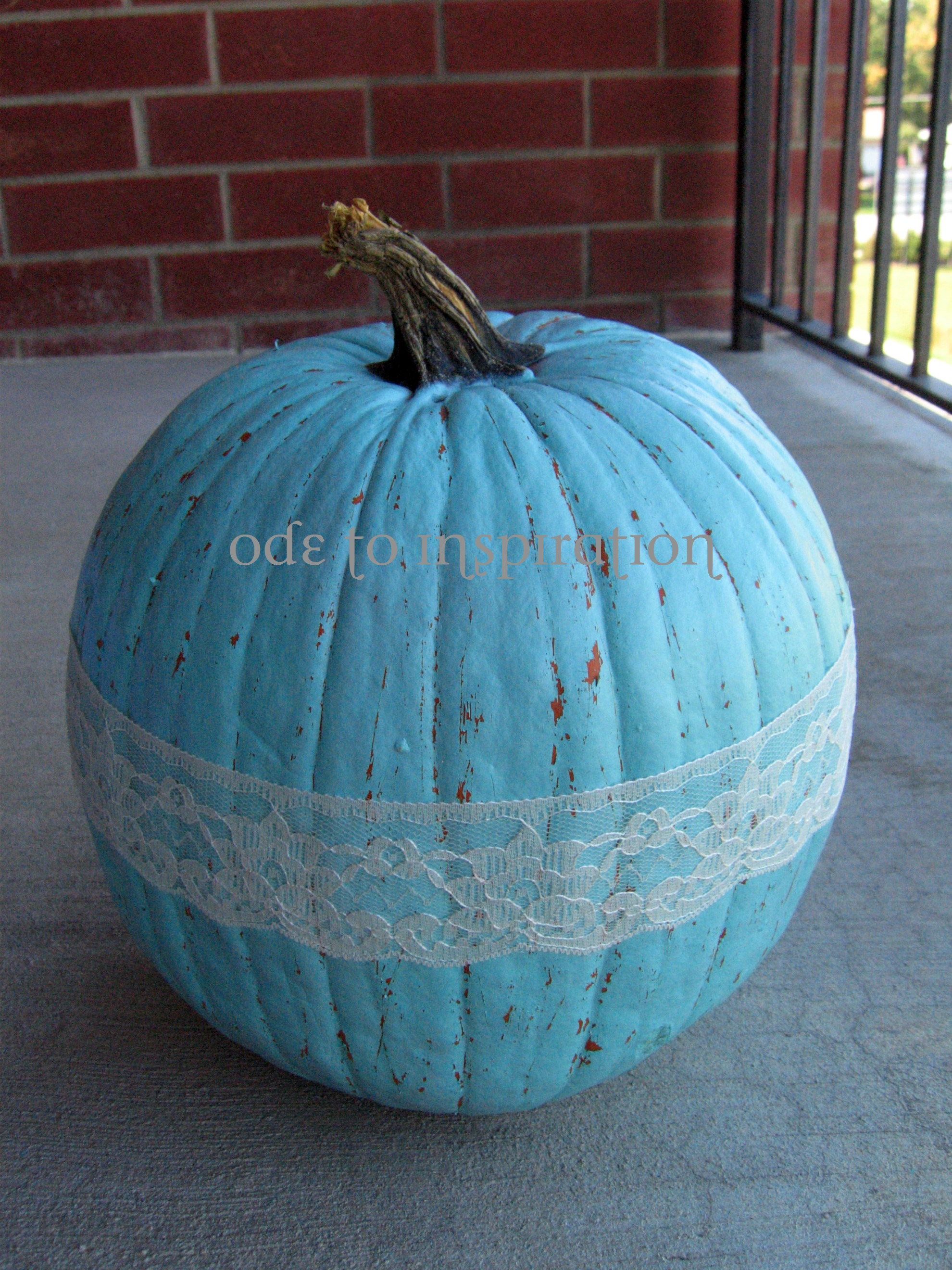 Pumpkin Decorating Tutorial Ode To Inspiration