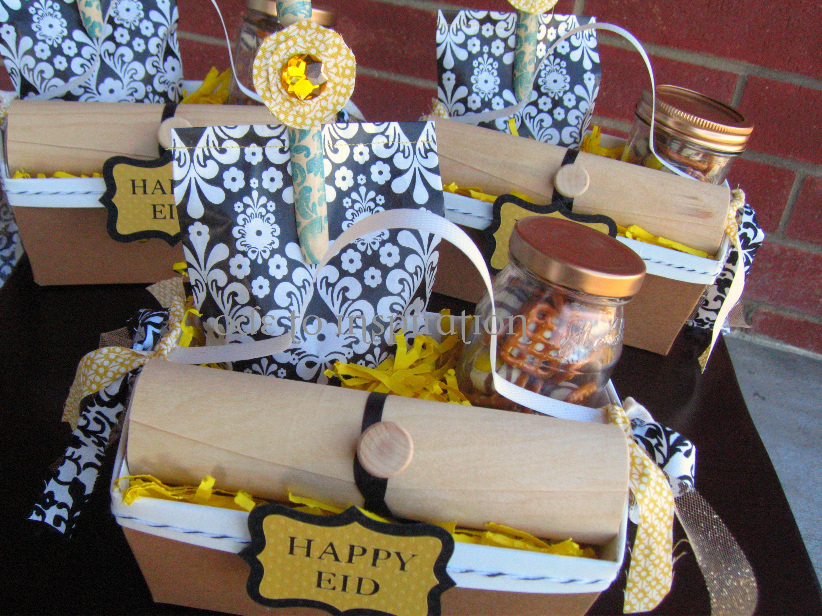 Eid al adha gift baskets ode to inspiration now allow me to share each of the components that make up the gift basket there is a story behind each item and how it came about but to share would mean negle Choice Image