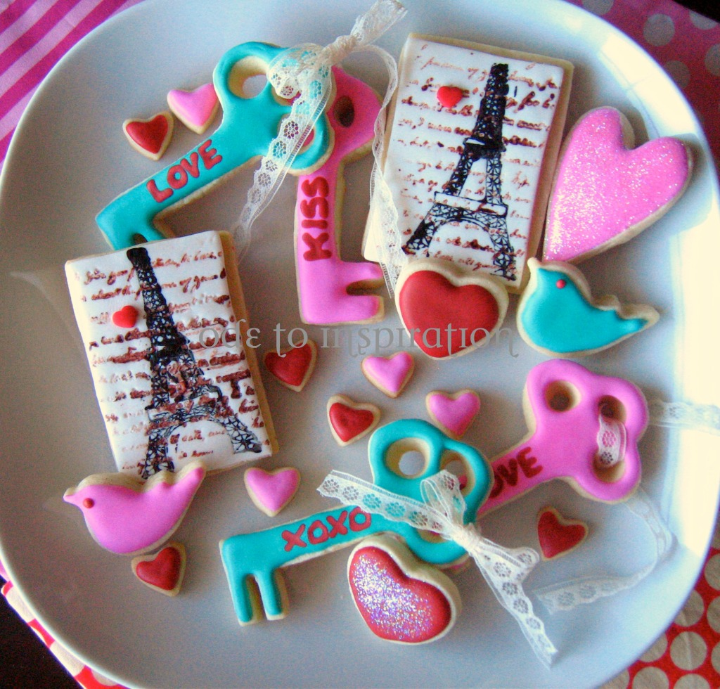 Valentines Cookies Love is in the ...