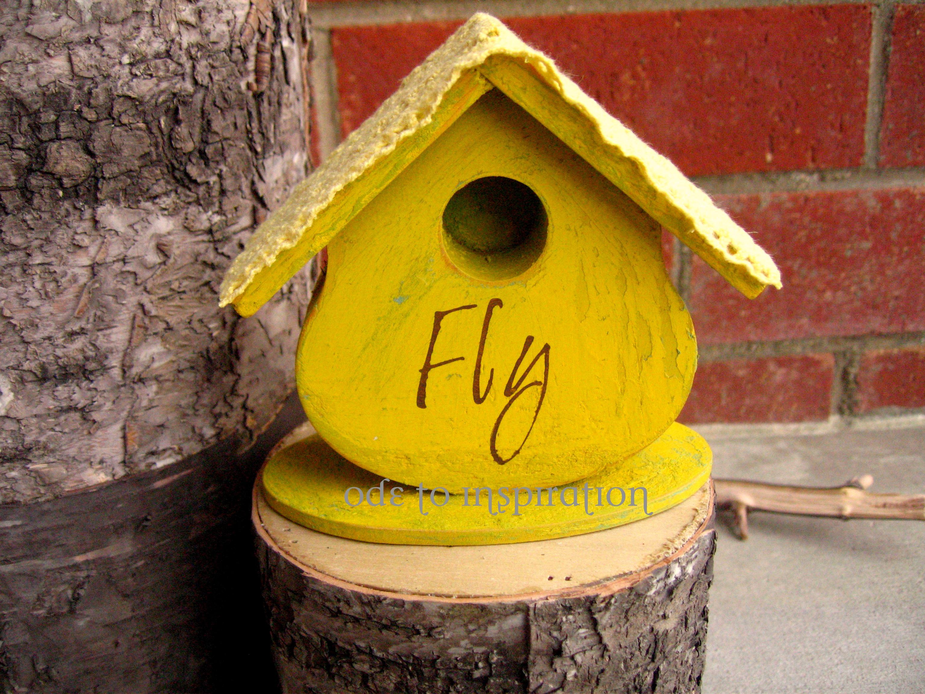 rustic birdhouse plans free