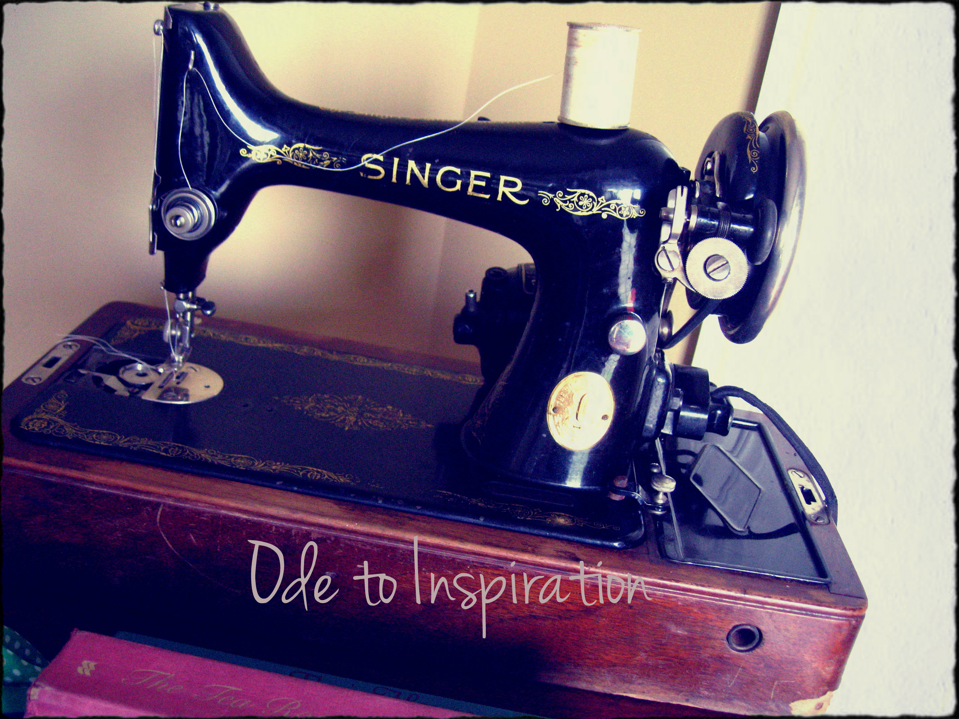 Another Vintage Sewing Machine! | Ode to Inspiration