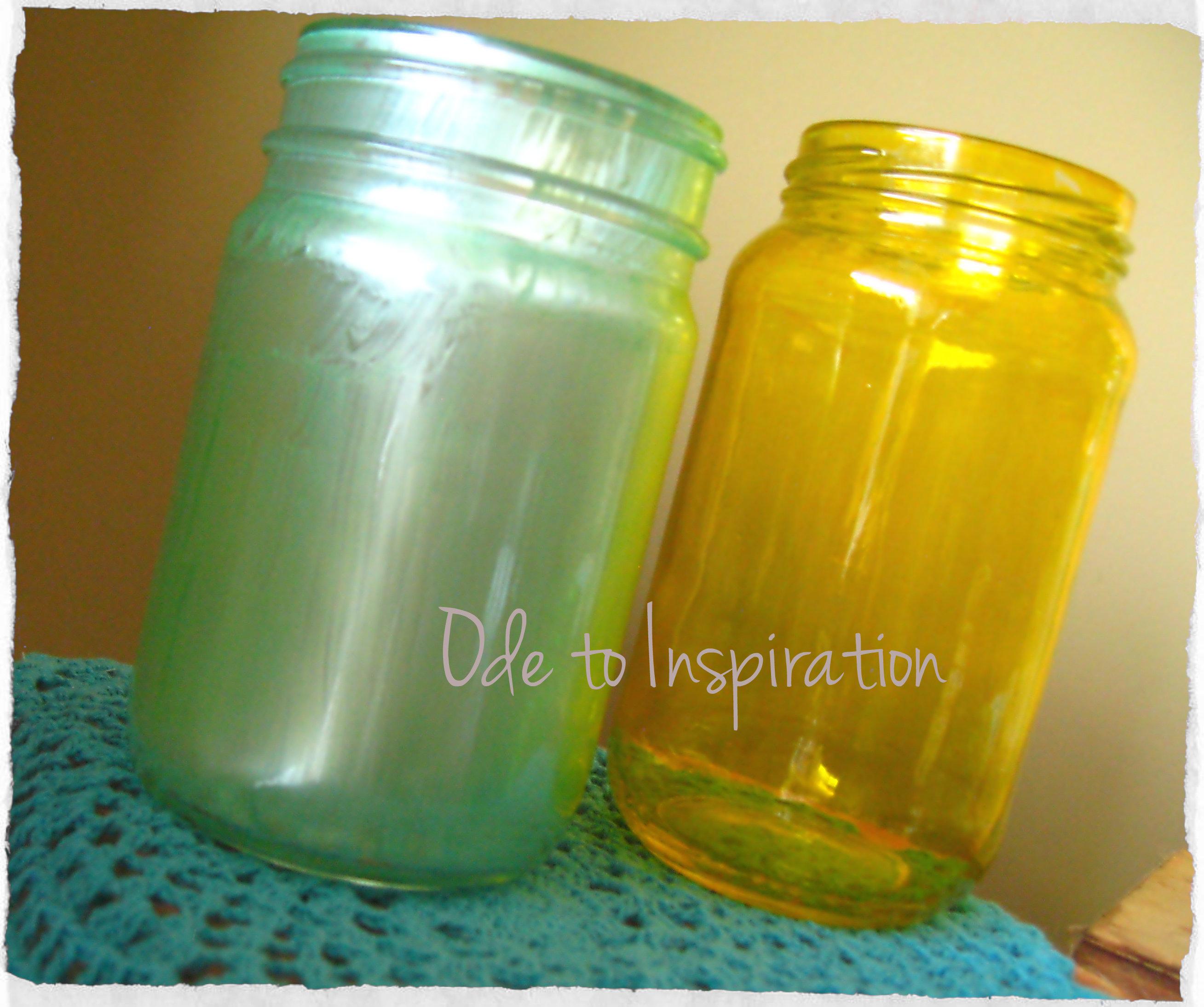 Uncategorized Tinted Jars diy vintage tinted jars ode to inspiration jars