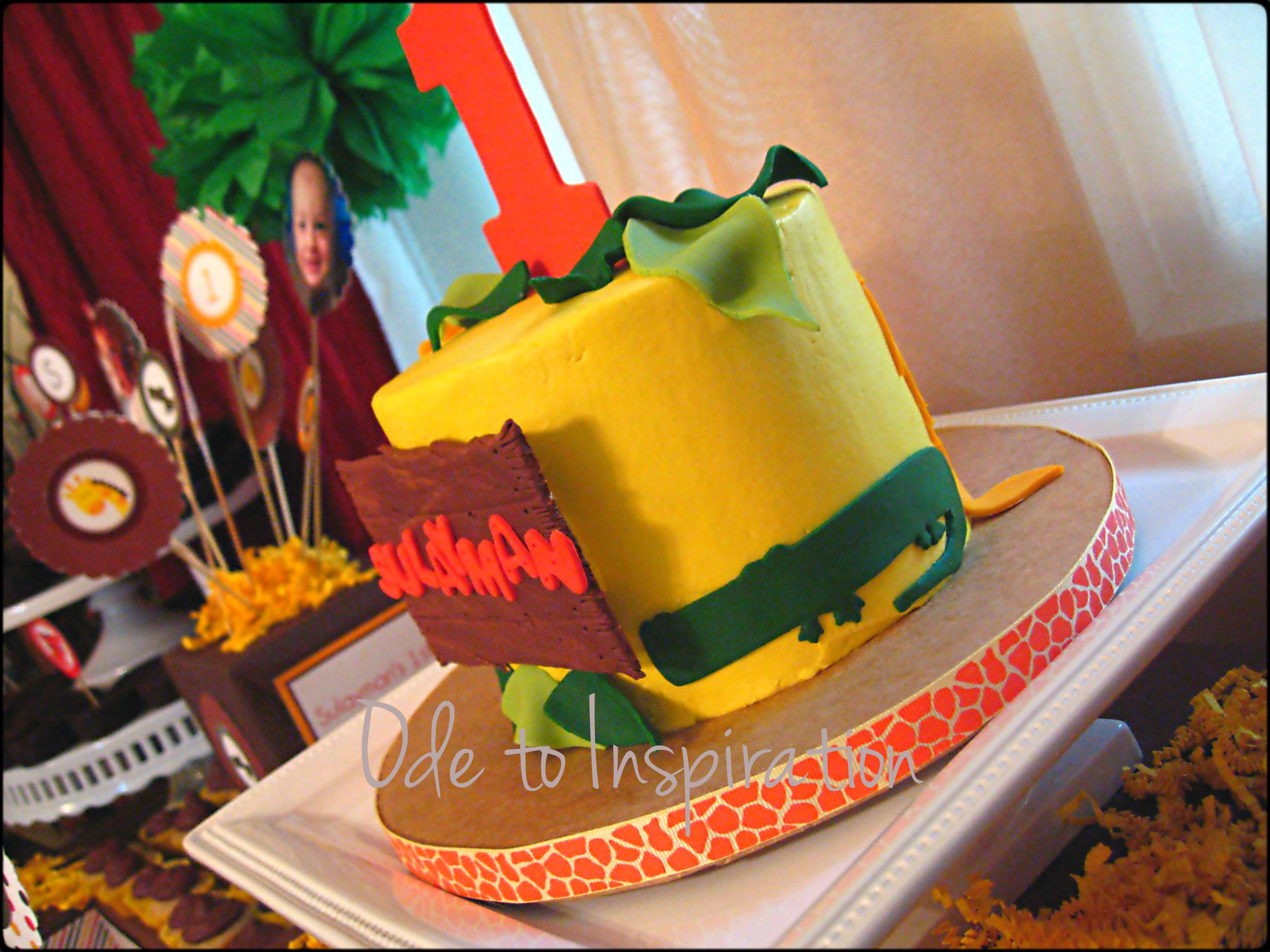 Birthday Cakes Jungle Theme ~ Jungle theme birthday cake ode to inspiration