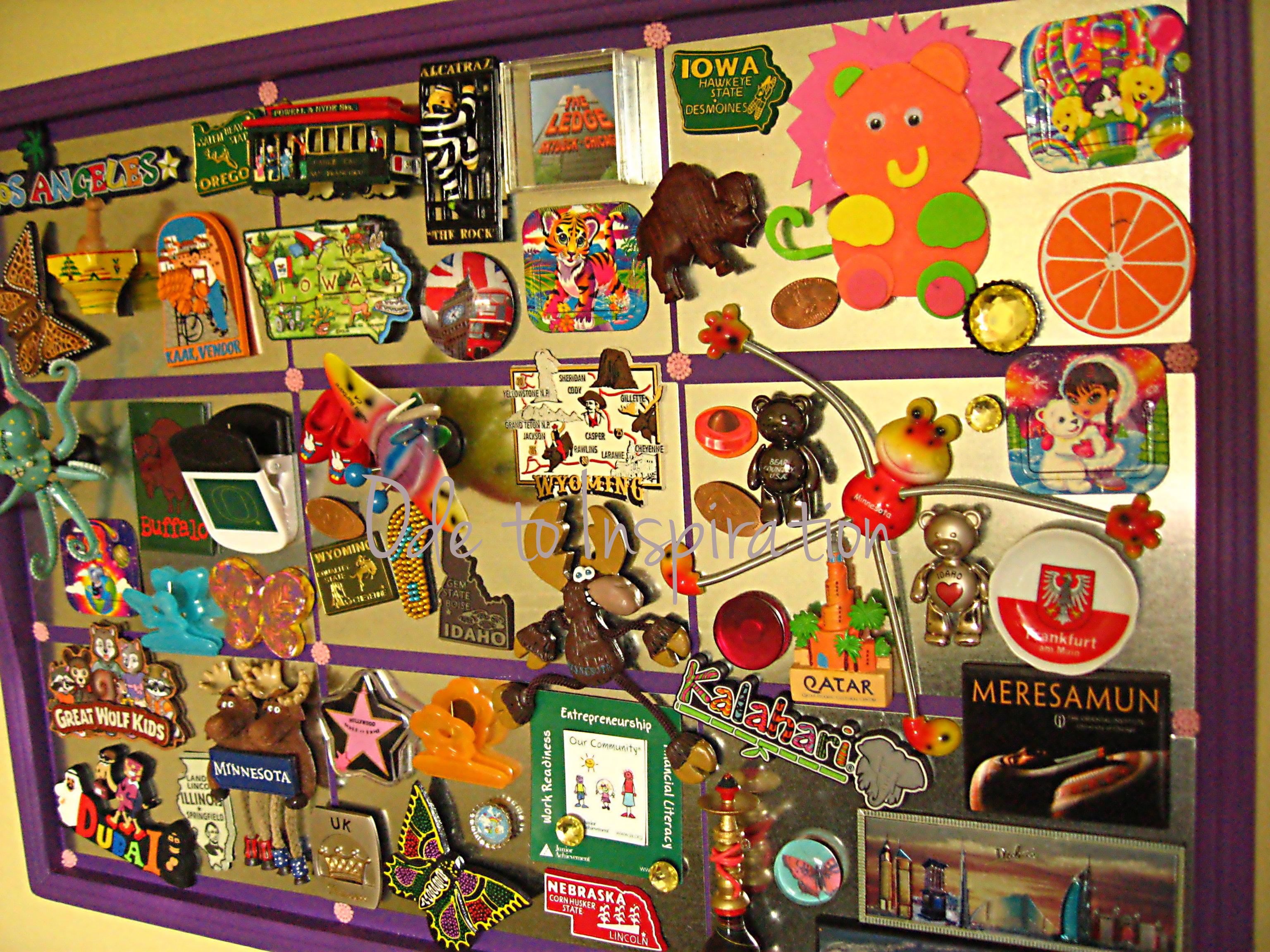 Diy Magnet Board Ode To Inspiration